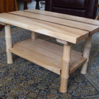 Ash and Walnut Coffee Table