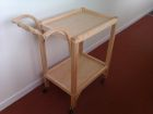Tea Trolley in English Ash