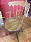 Round elm seat chair